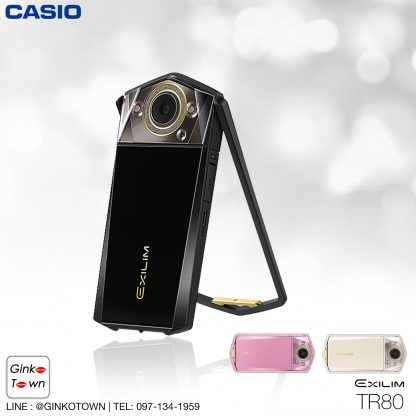 กล้อง casio tr80 สีดำ